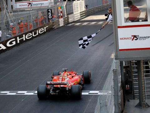 Sebastian Vettel wins the Monaco Grand Prix while Jenson Button fails to finish