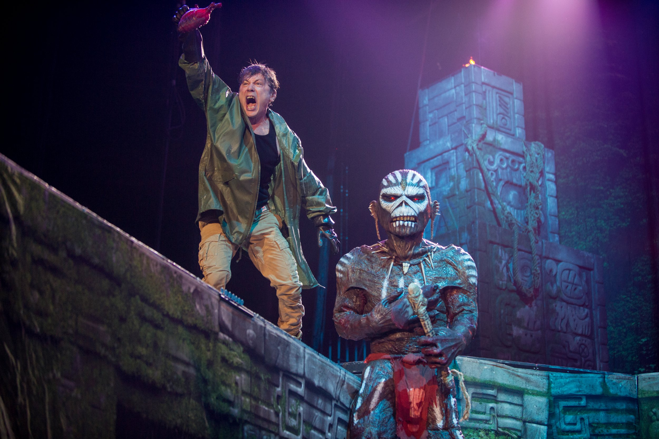 On tour with Iron Maiden: 5 things we learnt about the best British metal band