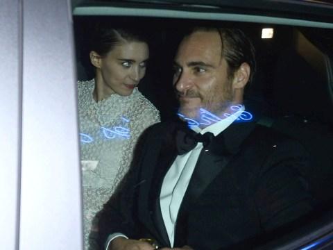 Rooney Mara and Joaquin Phoenix go public at Cannes Film Festival 2017