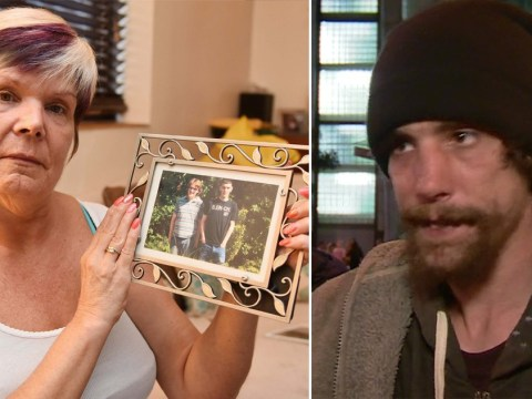 Mum of homeless Manchester attack hero is reunited with him after five years