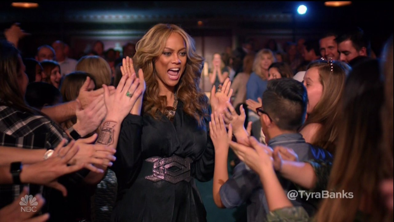 Tyra Banks is still on top as she makes her debut as new America's Got Talent host