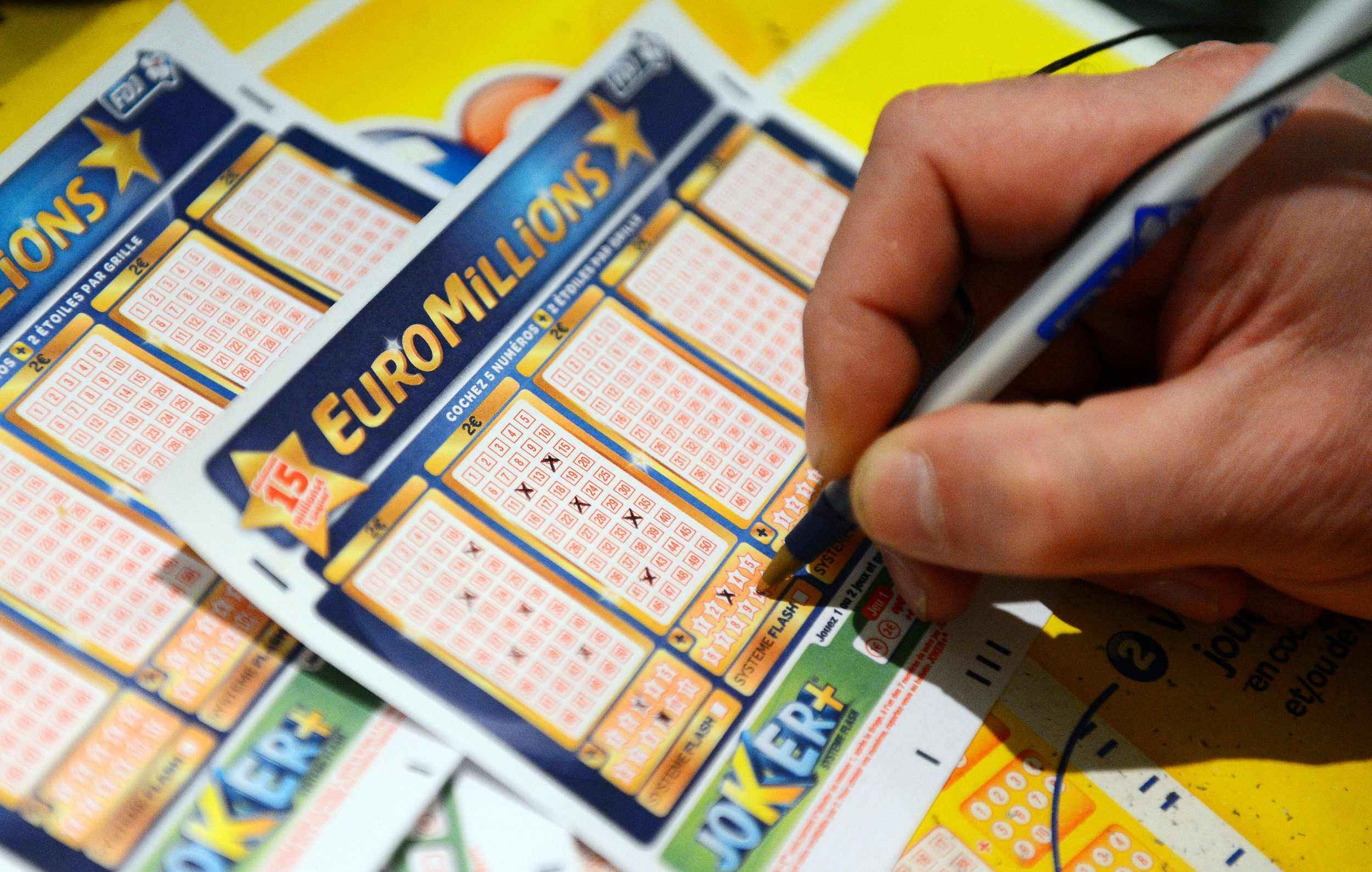 The next Euro Millions jackpot is £131 million