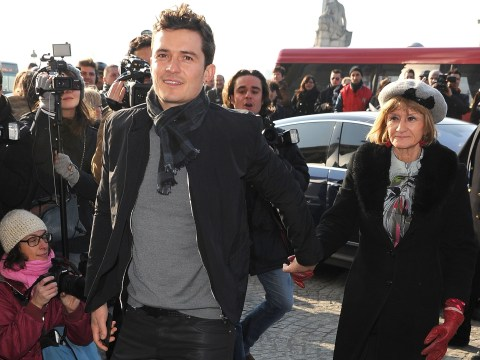 Orlando Bloom's mum has done the most mum thing ever