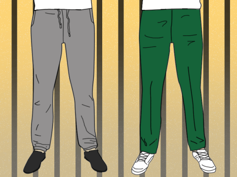 How clothing in prison identified who you were