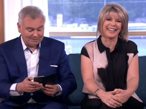 Eamonn Holmes thought son was horrificly ill when he sent text that read I Can't Feel My Face