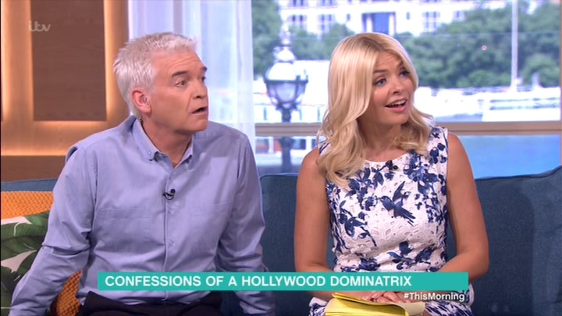 This Morning's Philip Schofield left shocked after Hollywood dominatrix reveals A-listers secrets
