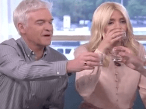 Holly Willoughby and Philip Schofield get boozy on This Morning with shot of tequila