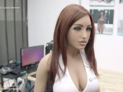 'Love is dead!': New sex robots leave Loose Women questioning if they really can spice up the bedroom