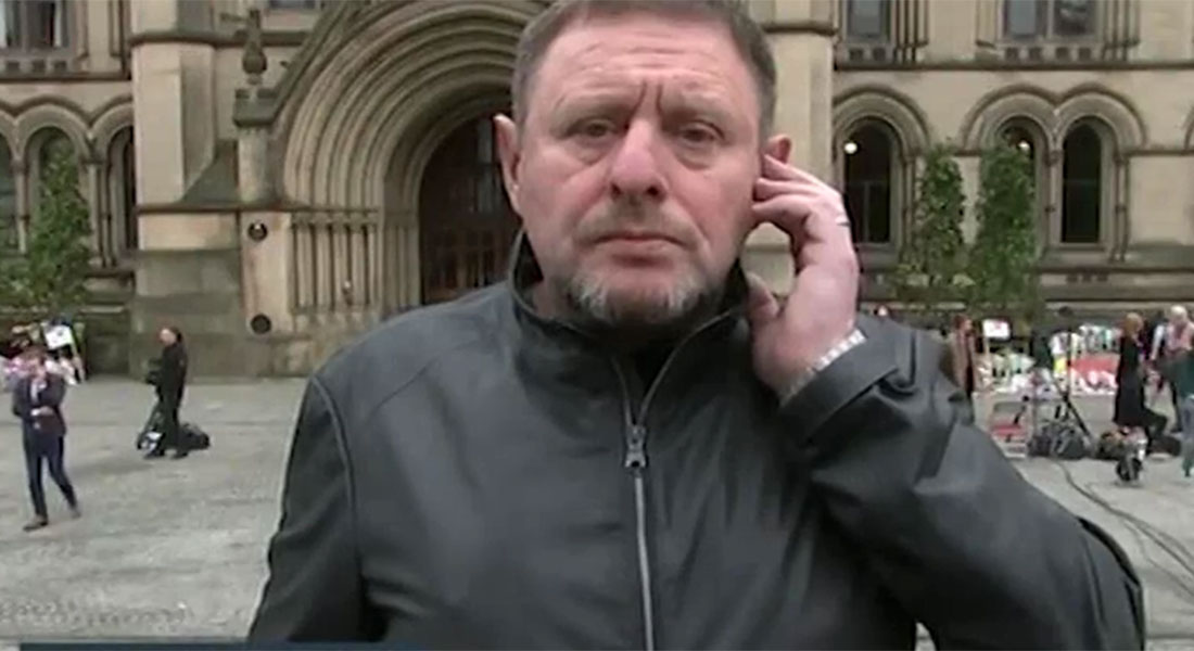 Shaun Ryder had planned to attend the Ariana Grande gig with his family – but didn't go