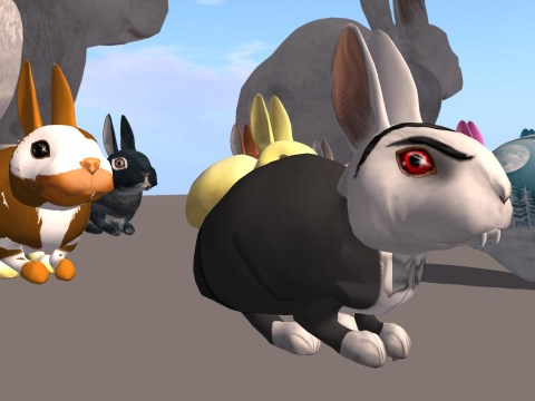 Second Life virtual rabbit cull creates immortal monsters and upset fans