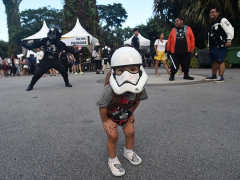 Fans come out in their droves to celebrate Star Wars Day