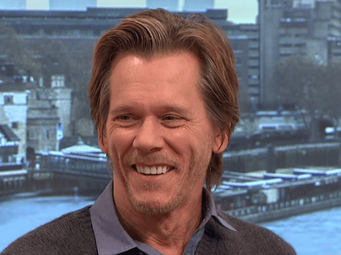 'It's 99 percent great': Kevin Bacon likes being Kevin Bacon