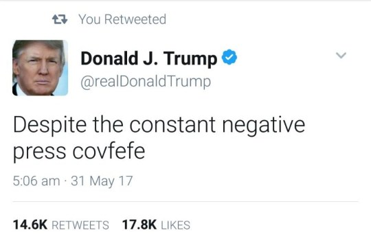What is covfefe, what does it mean and why was Donald Trump tweeting