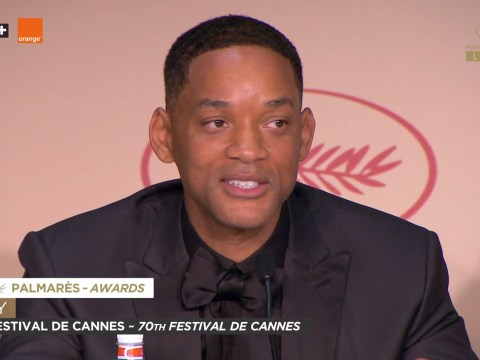 Will Smith tells Cannes Film Festival 'a couple black folks [on screen] wouldn't hurt'