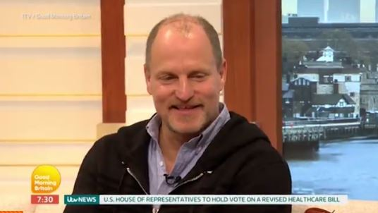 Star Wars Day: Woody Harrelson teases his 'criminal' role in Han Solo spin-off on Good Morning Britain