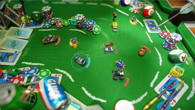 Micro Machines: World Series (PS4) - not mega fun
