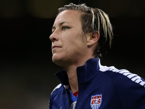 Abby Wambach delivers inspirational message to young footballer who was disqualified for having short hair