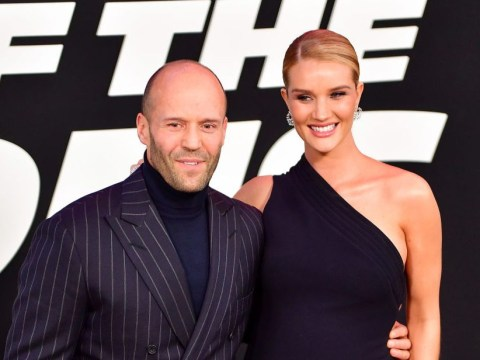 Rosie Huntington-Whiteley and Jason Statham welcome first baby: 'Our little man arrived!'
