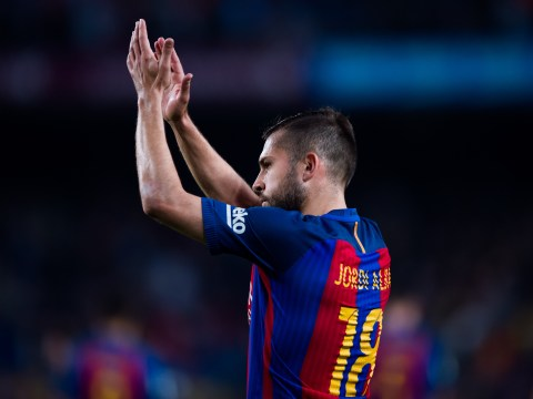 Manchester United keen on Jordi Alba transfer but deal looks unlikely this summer