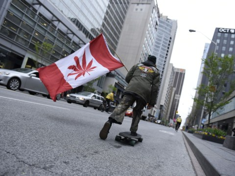 Canada looks like it might be about to run out of weed
