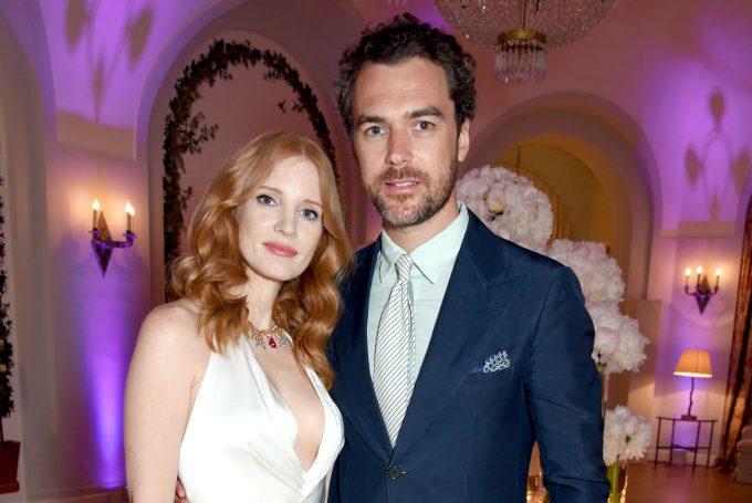 Jessica Chastain marries boyfriend Gian Luca Passi de Preposulo in Italy