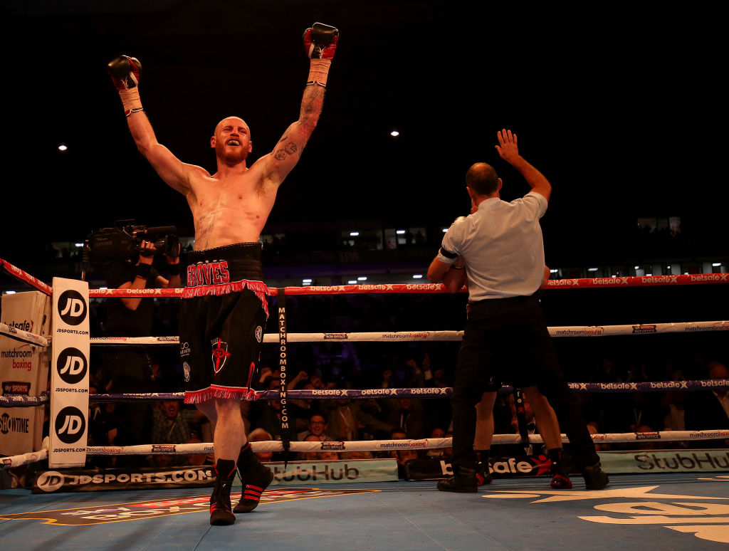 George Groves confirms he suffered broken jaw in the third round during world title triumph