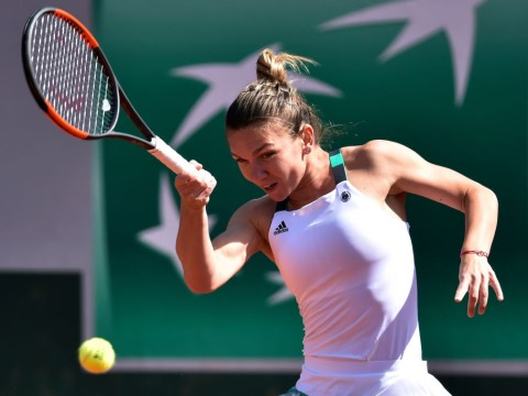 Simona Halep cements status as French Open favourite with dominant win over Carla Suarez Navarro