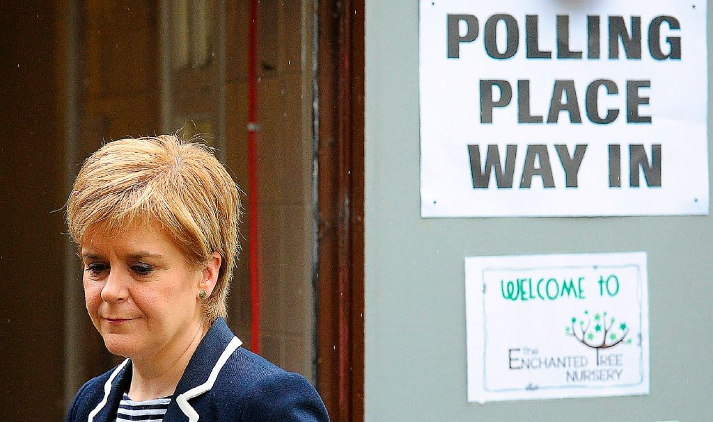 Scotland's First Minister and leader of the Scottish National Party (SNP), Nicola Sturgeon (Picture: ANDY BUCHANAN/AFP/Getty Images)