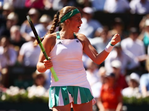 World No. 47 Jelena Ostapenko, 20, makes history with stunning French Open win v Halep