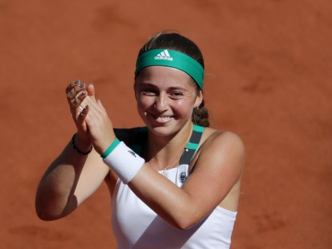 Jelena Ostapenko reacts to making Grand Slam history after stunning French Open win