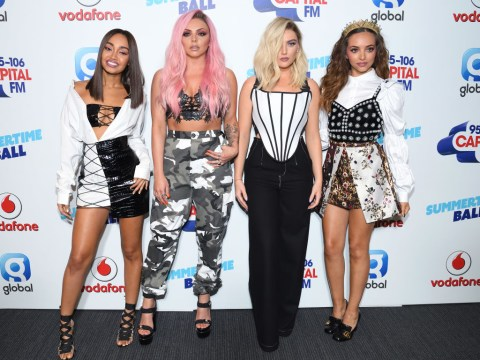 Little Mix hit back at the bodyshamers and wardrobe critics by telling them to 'sod off'