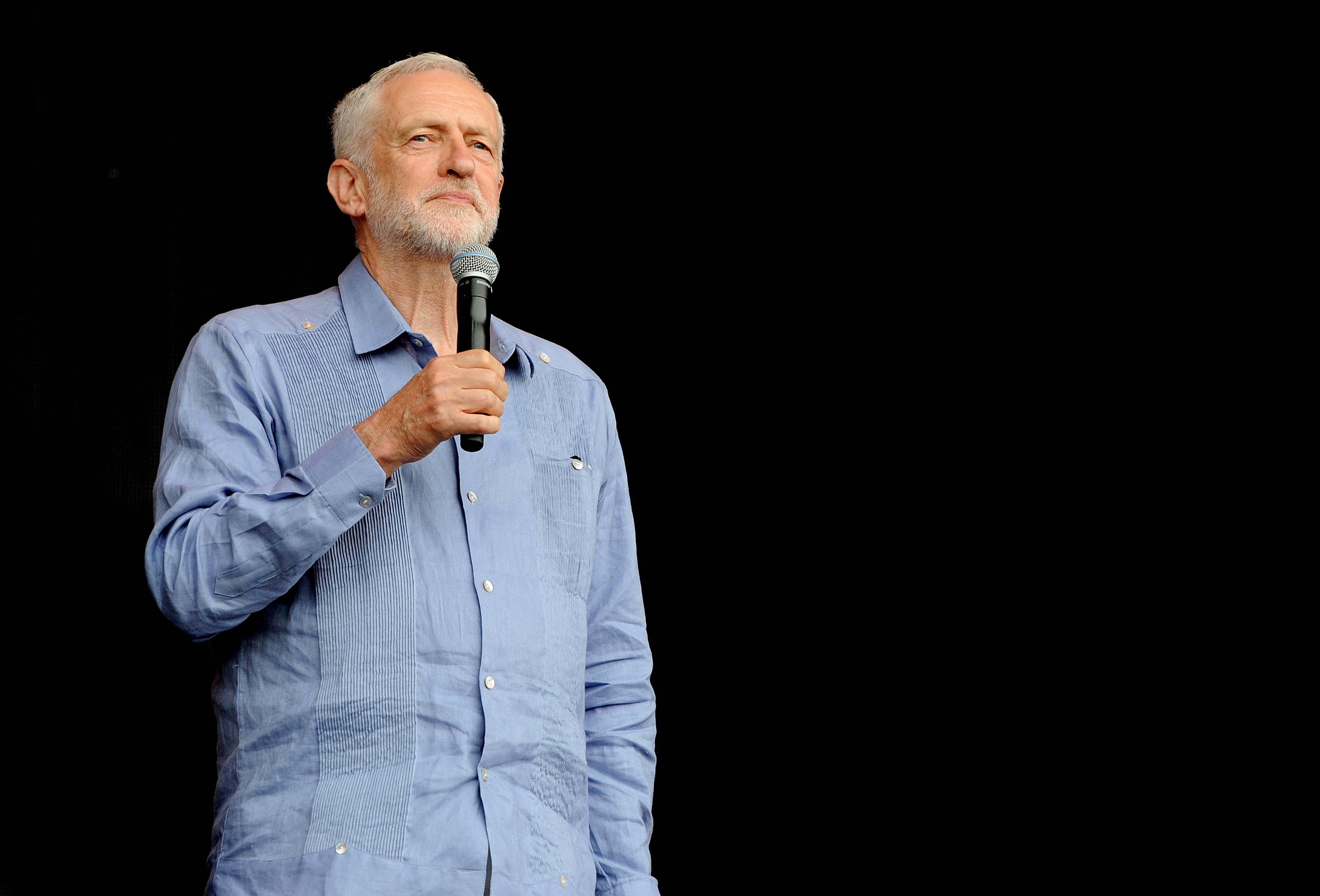 Jeremy Corbyn is abandoning his principles. Finally