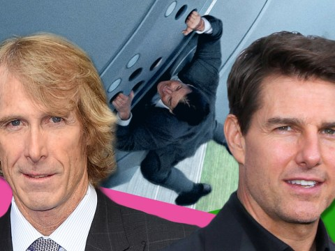 Michael Bay 'could work with Tom Cruise only if his stunts were more dirty and messy'