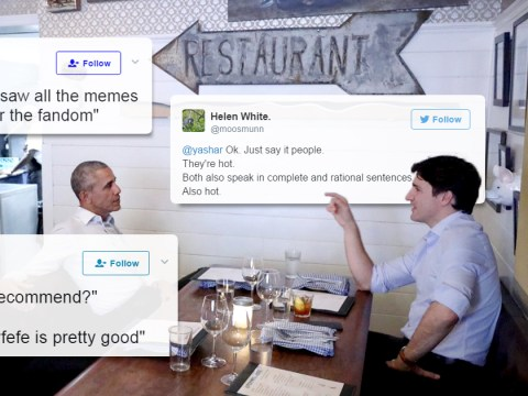 Barack Obama and Justin Trudeau reignite their bromance with man date in Canada
