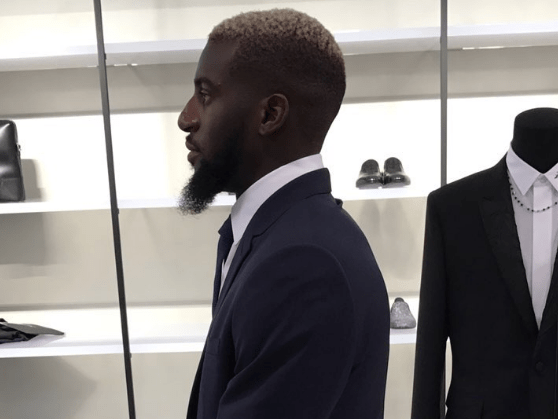 Tiemoue Bakayoko spotted shopping in two of Chelsea's sponsors' stores in Paris ahead of £35m transfer