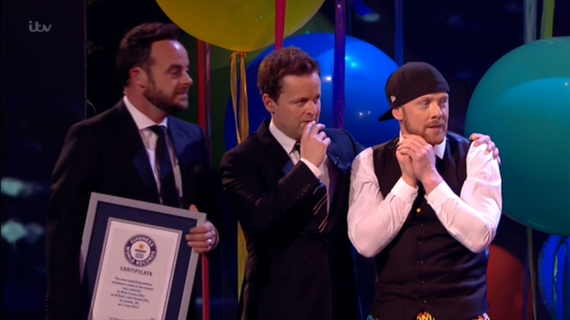 Britain's Got Talent hopeful fails to beat Guinness World Record during balloon act