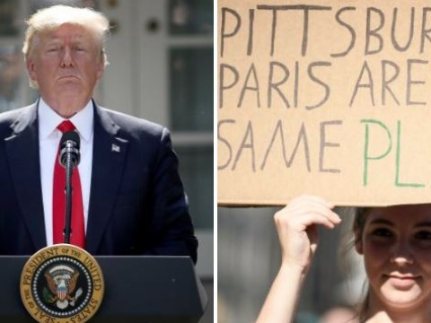 Pittsburgh mayor tells Donald Trump 'we stand with Paris, not you' over climate agreement