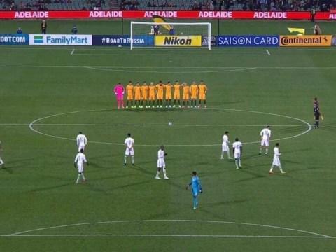 Saudi Arabia national team fails to honour minute's silence for London terror victims