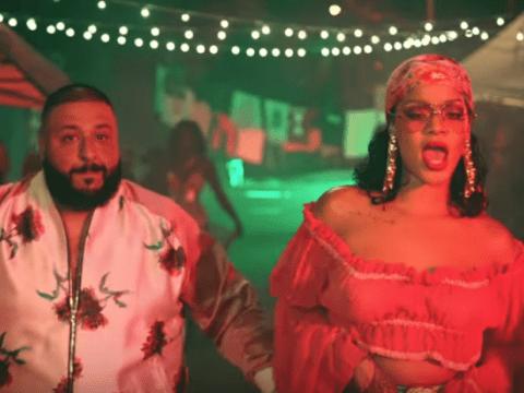 Rihanna steals the show on Dj Khaled's new summer anthem Wild Thoughts