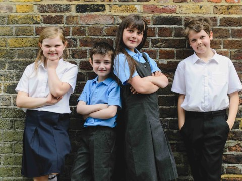 You can get an entire kids' school uniform at Aldi for £5
