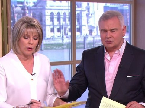 This Morning viewers outraged by 'rude' Eamonn Holmes after telling wife Ruth Langsford to 'shush' mid-interview