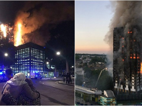 Several hundred people were in Grenfell Tower when it went up in flames