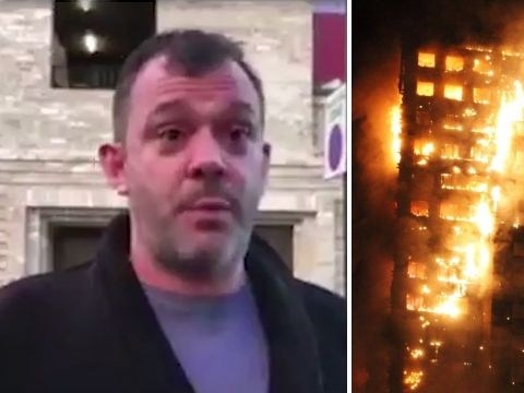 Grenfell fire resident ran into smoke in just his boxers to rescue his little girl