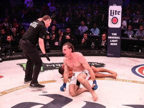 Zach Freeman stops prospect Aaron Pico in his tracks on Bellator debut