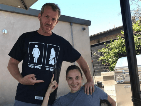 Gal Gadot's husband has the best t-shirt to show off he's married to Wonder Woman