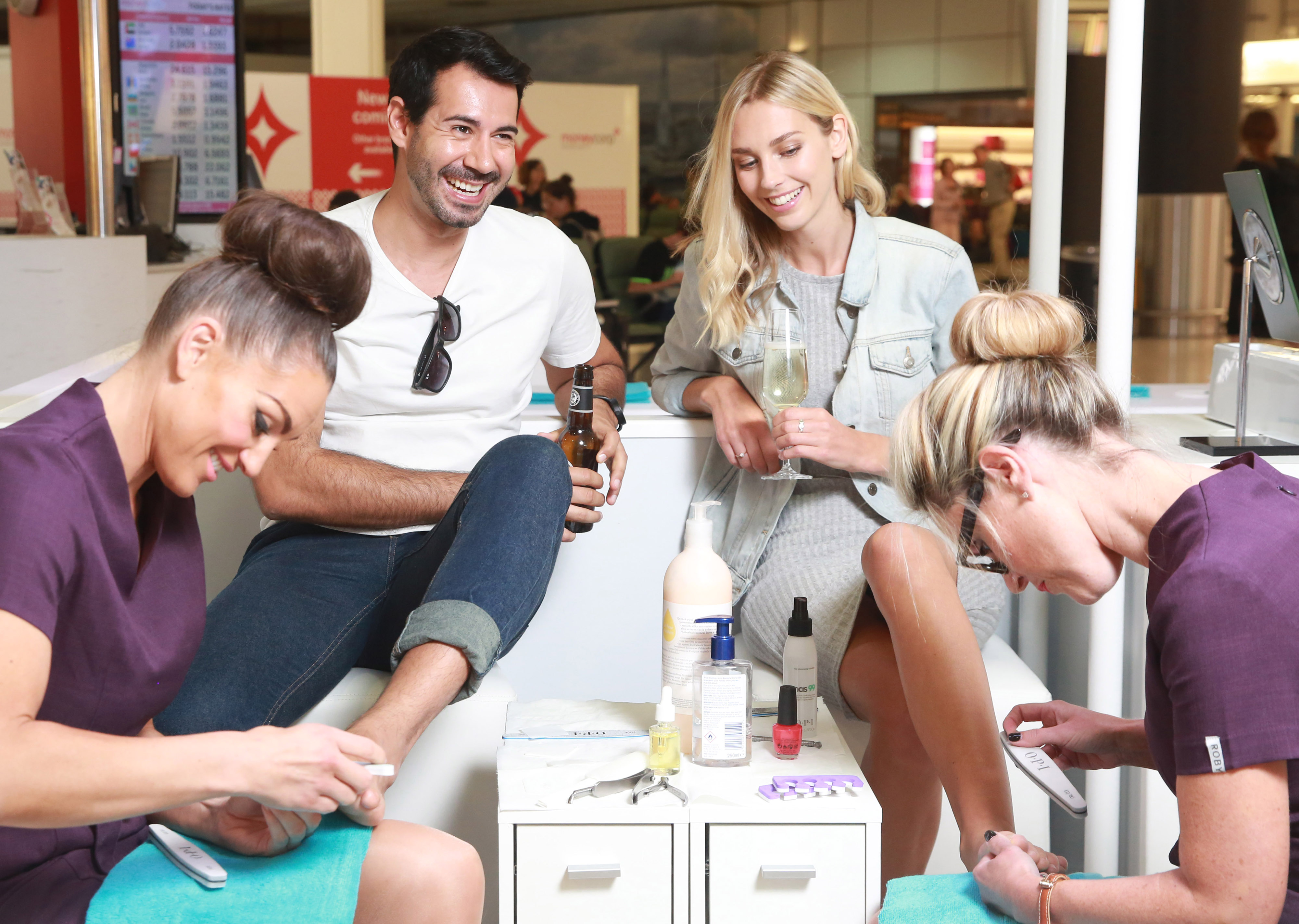 Gatwick Airport are offering free pedicures because they're sick of your manky feet