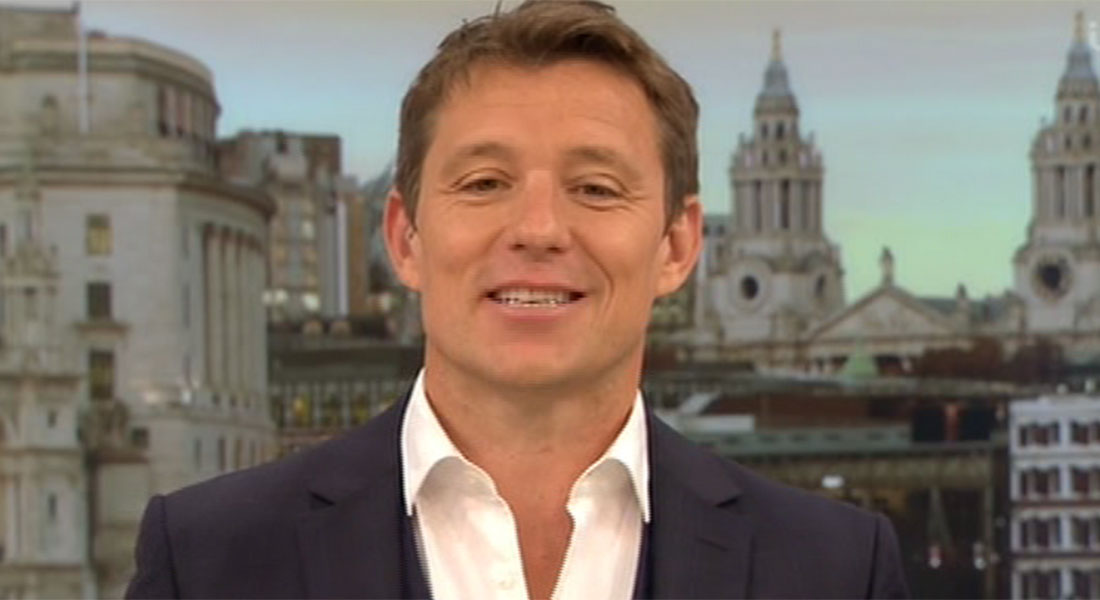 Ben Shephard delights Good Morning Britain viewers as he sheds his tie on air