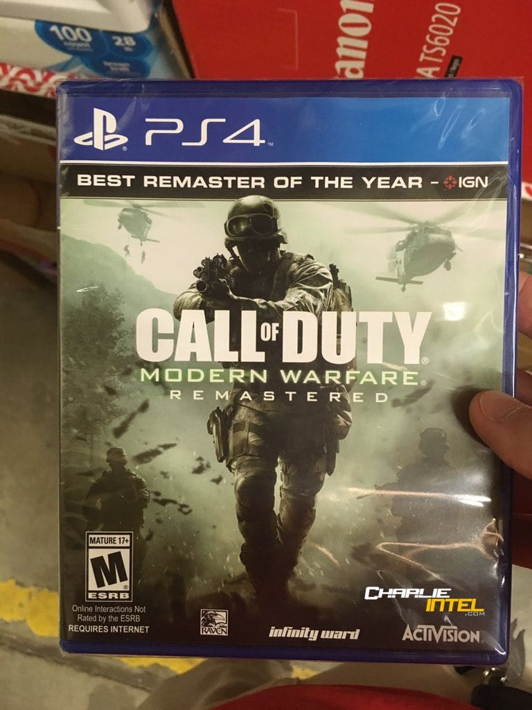 Call of Duty: Modern Warfare Remastered - planning a surprise release?