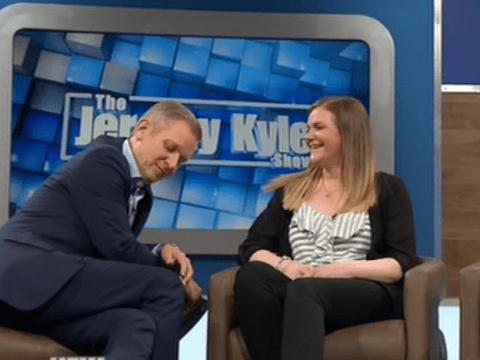 'Are you flirting with me?': Jeremy Kyle accuses guest of making a pass at him as she's reunited with long-lost sister