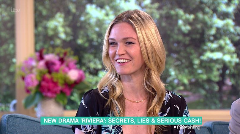 Julia Stiles doesn't even know how Sky Atlantic's Riviera will end as they shot multiple endings